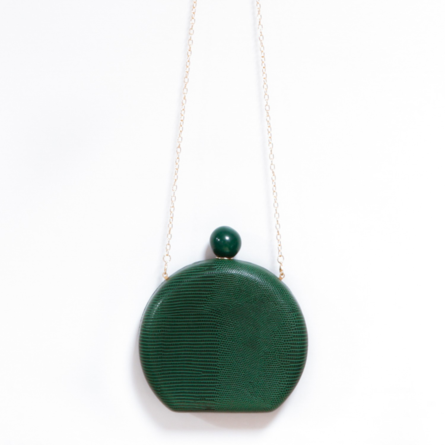 CLUTCH OVAL - VERDE