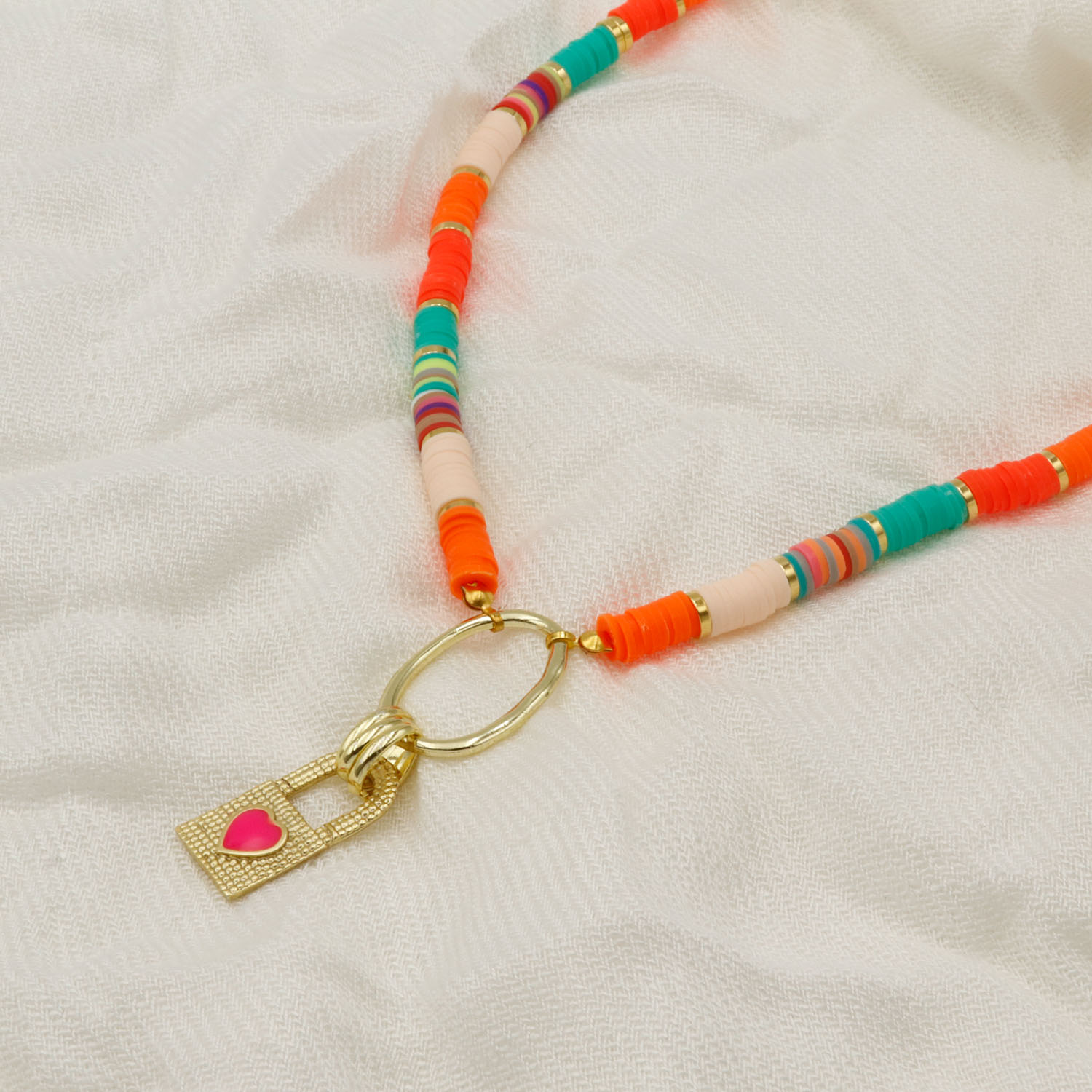 COLAR BEADS COLOR NEON