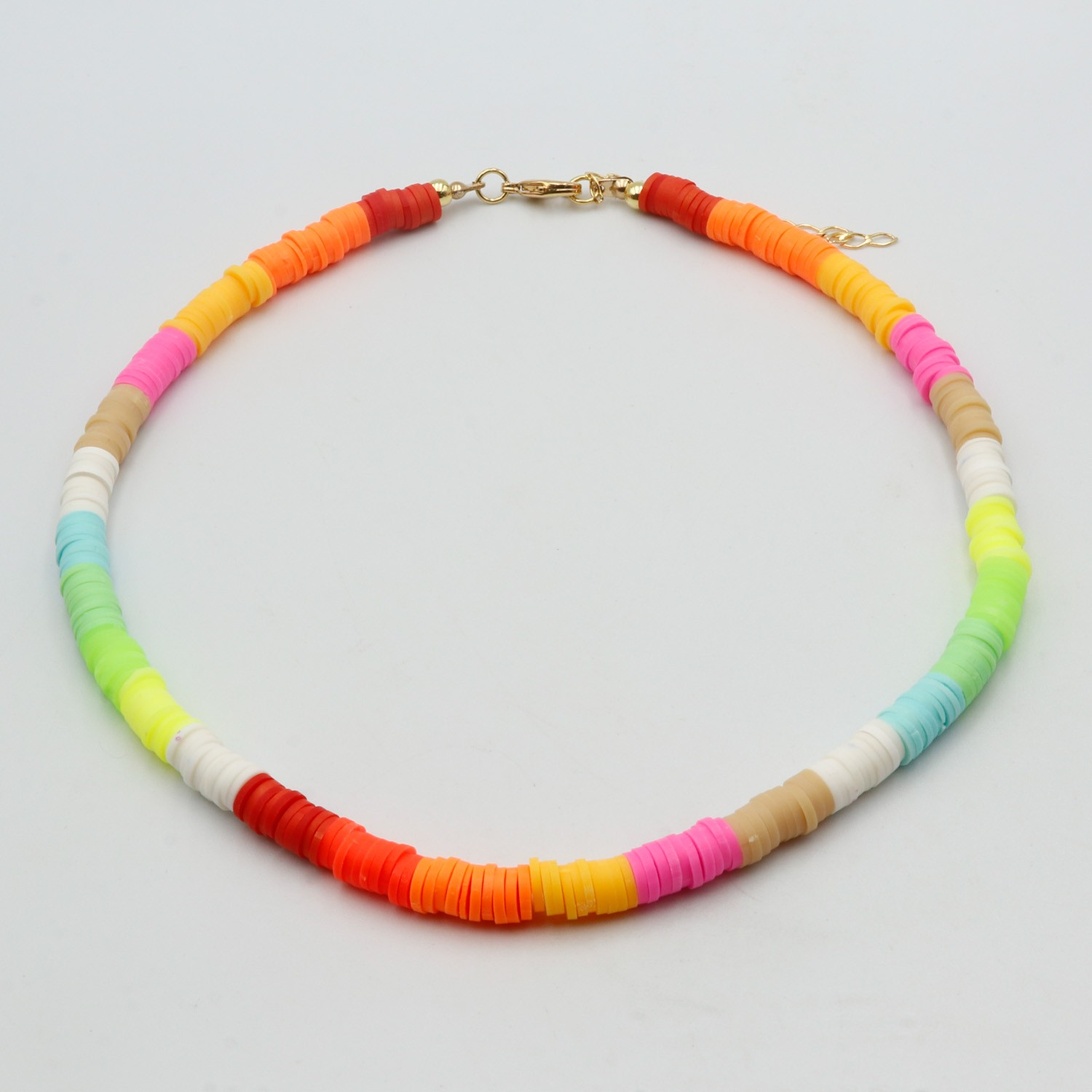 GARGANTILHA BEADS MULTICOLOR