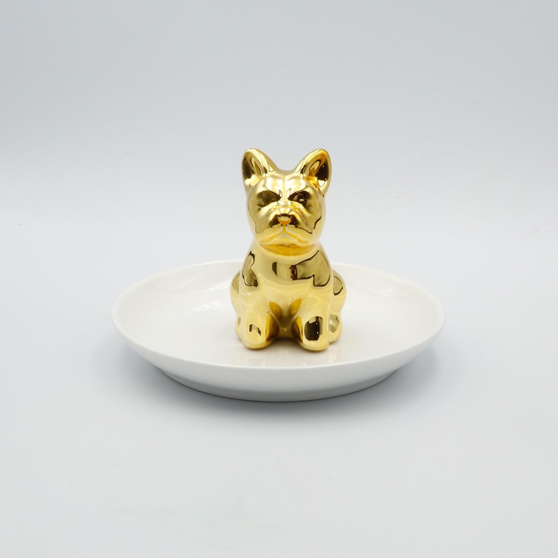 PORTA ANÉIS DOG GOLD