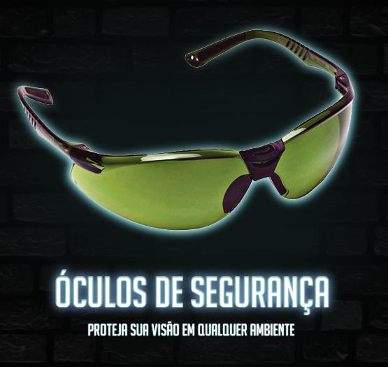 Confira nossos óculos de segurança.