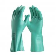 Luva nitrílica proteção contra produtos químicos com forro Nitrasolv Danny