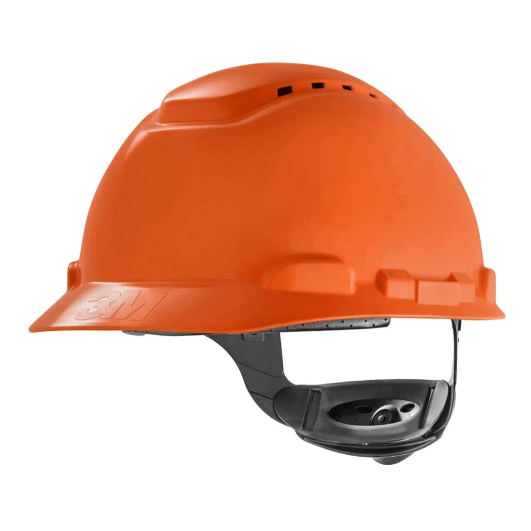 Capacete de Proteção 3M H700 Refletivo Ventilado Com Suspensão e Catraca