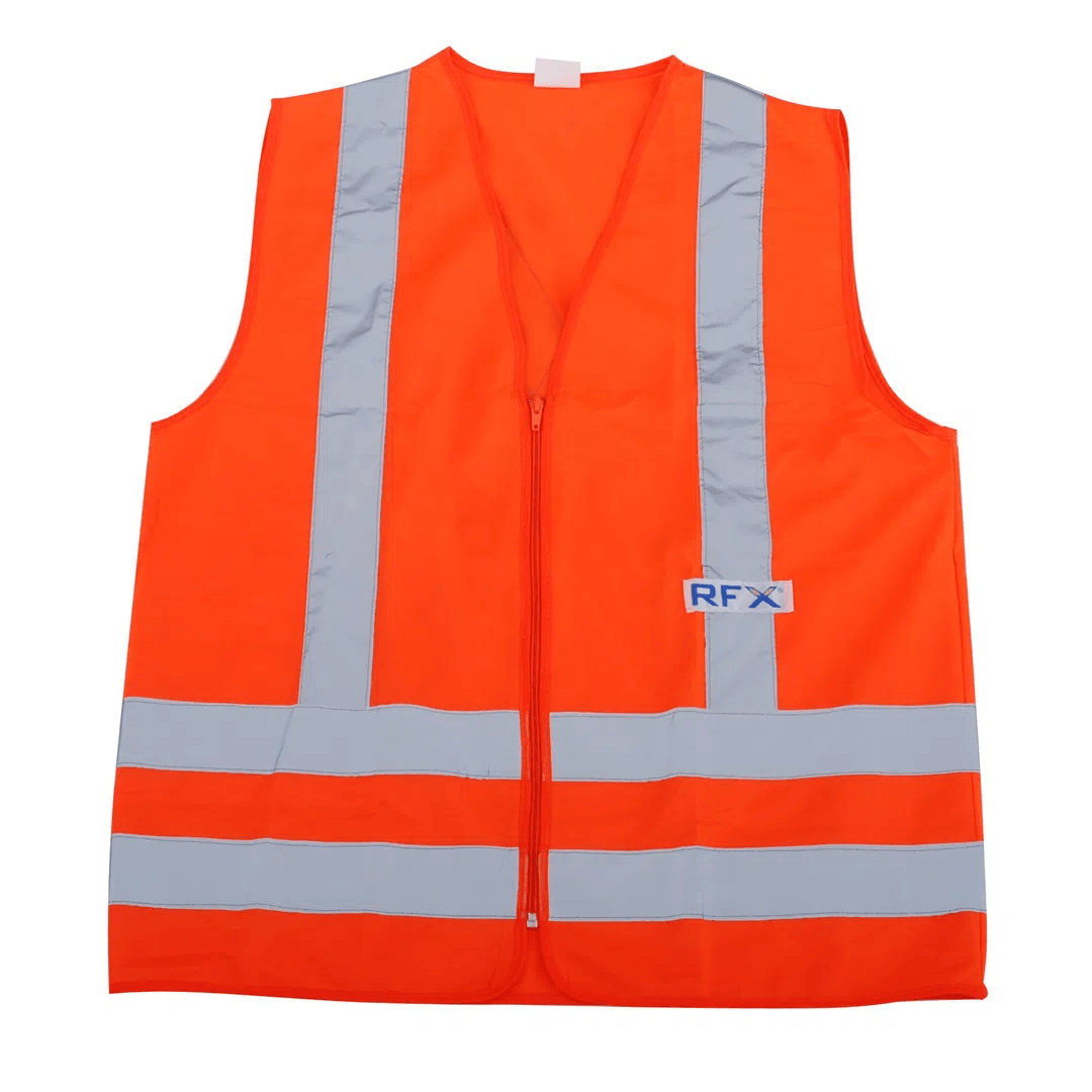 Colete refletivo RFX laranja tamanho G - Vicsa