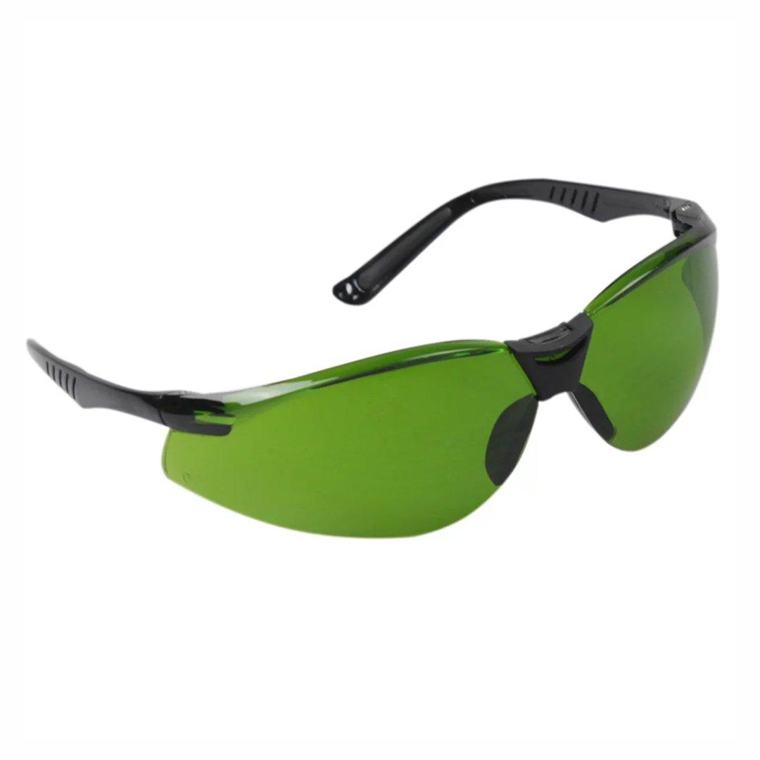 Óculos de segurança águia Cayman verde - Carbografite