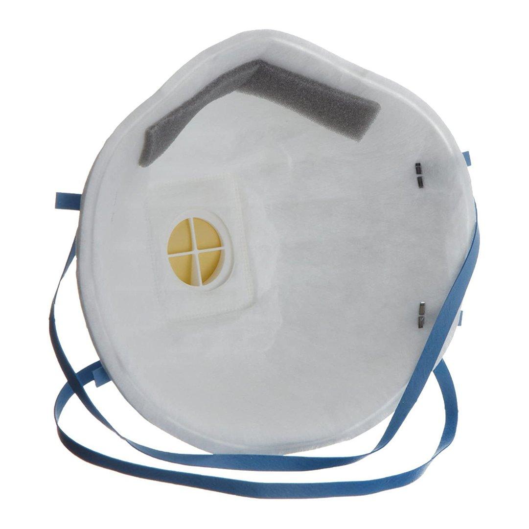 Respirador descartável PFF2 3M 8822 com válvula branco
