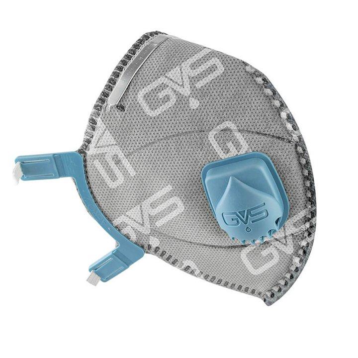 Respirador Facial Dobrável PFF2 C/ Carvão Ativado e Válvula - GVS