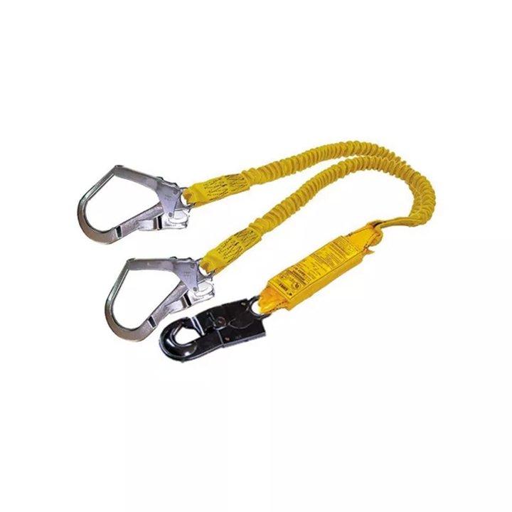 Talabarte de segurança duplo em Y com absorvedor de energia VIC23605