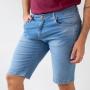 Bermuda Jeans Skinny Masculina Puídos Elastano Anticorpus