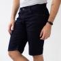 Bermuda Jeans Slim Clássica Masculina Escura Anticorpus