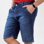 Bermuda Jogger Masculina Jeans Stretch Amarril Anticorpus