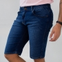 Bermuda Slim Jeans Masculina Básica Strech Anticorpus