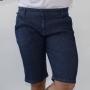 Bermuda Slim Jeans Masculina Listrada Elastano Anticorpus