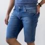 Bermuda Slim Jeans Masculina Tradicional Elastano Anticorpus