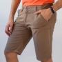 Bermuda Slim Masculina Sarja Várias Cores Elastano Anticorpus
