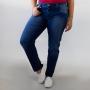 Calça Jeans Cigarrete Plus Size Feminina Escura Anticorpus