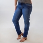 Calça Jeans Cigarrete Plus Size Feminina Media Anticorpus