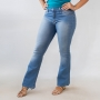 Calça Jeans Flare Petit Feminina Média Anticorpus