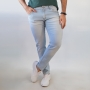 Calça Jeans Masculina Skinny Azul Claro Elastano Anticorpus