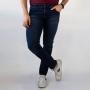 Calça Jeans Skinny Clássica Masculina Azul Noite Anticorpus