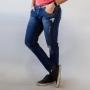 Calça Jeans Skinny Masculina Algodão Destroyed Anticorpus