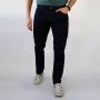 Calça Jeans Slim Clássica Masculina Escura Anticorpus