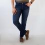 Calça Jeans Slim Masculina Azul Escuro Elastano Anticorpus