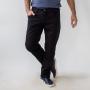 Calça Masculina Sarja Slim Preto Elastano Anticorpus