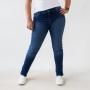 Calça Skinny Jeans Escuro Feminina Alta Anticorpus