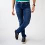 Calça Skinny Masculina Jeans Escuro Strech Anticorpus