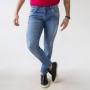 Calça Super Skinny Jeans Masculina Puídos Anticorpus