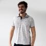 Camisa Polo Piquet Masculina Rajada Várias Cores Anticorpus