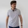 Camisa Polo Tradicional Listra Fina Horizontal Anticorpus