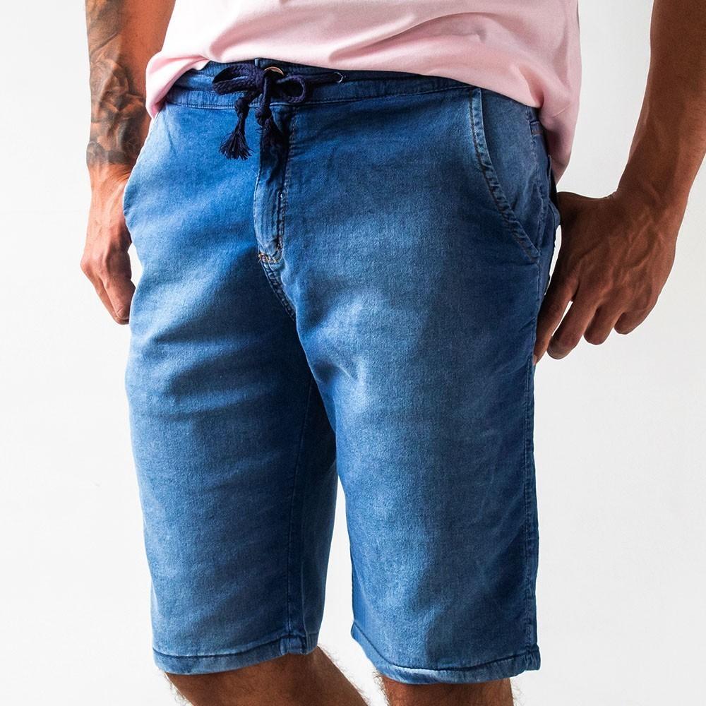 Bermuda Jogger Masculina Jeans Soft Touch Anticorpus