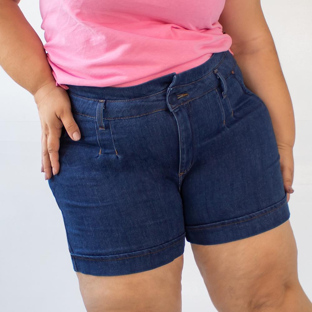 Bermuda Mom Clochard Plus Size Modal Feminino Anticorpus