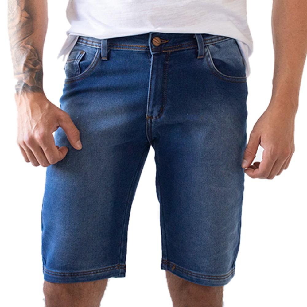 Bermuda Skinny Masculina Jeans Anticorpus