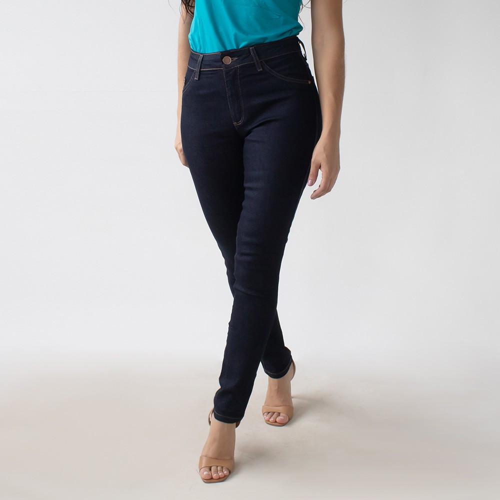 Calça Jeans Feminina Skinny Cintura Alta Elastano Anticorpus