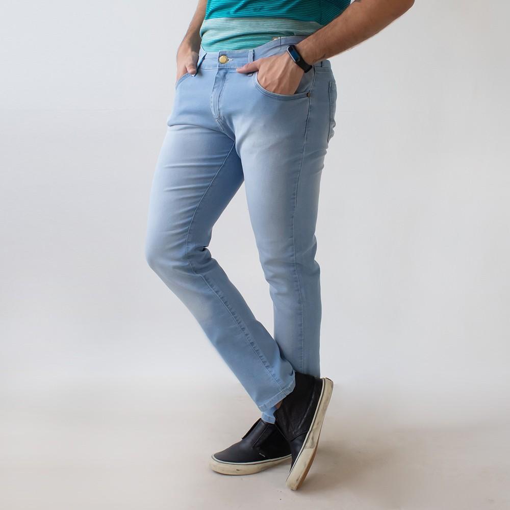 Calça Jeans Skinny Masculina Claro Elastano Anticorpus