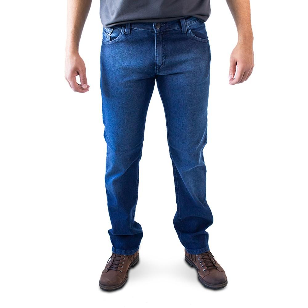Calça Masculina Jeans Slim Forro Elastano Anticorpus