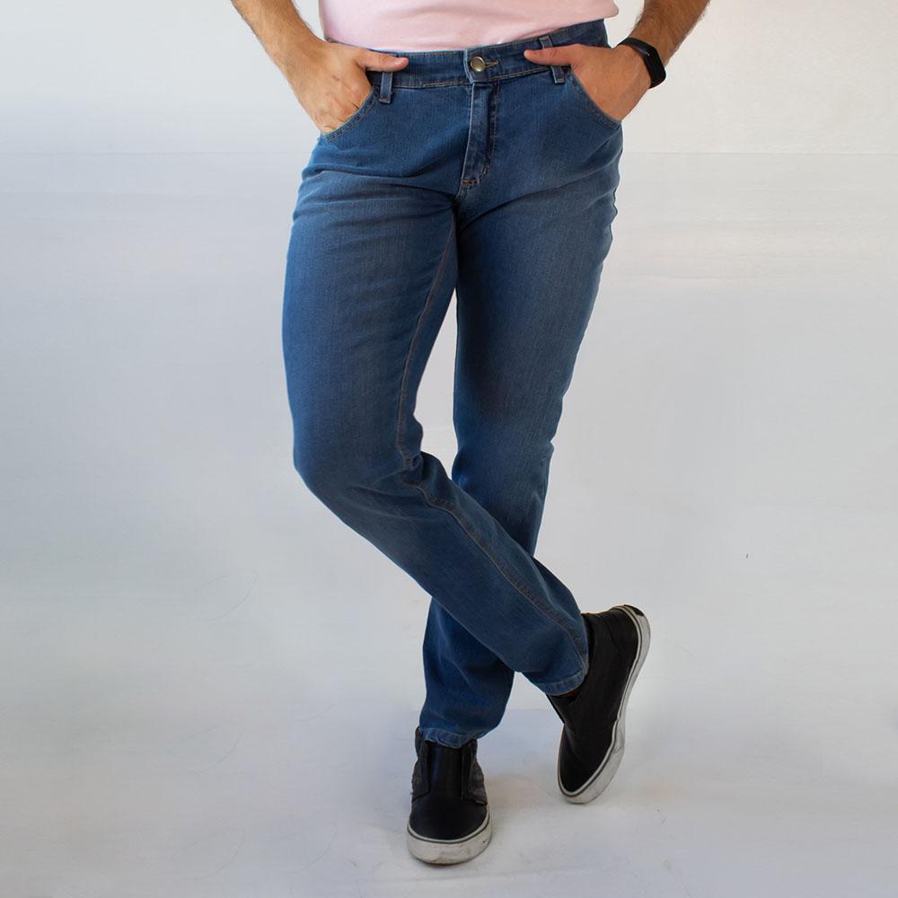 Calça Skinny Jeans Masculina Básica Elastano Anticorpus