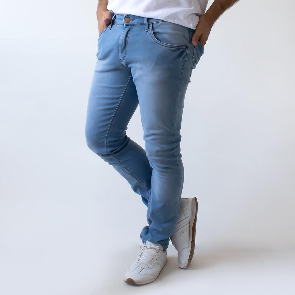 Calça Skinny Masculina Jeans Elastano Forro Anticorpus
