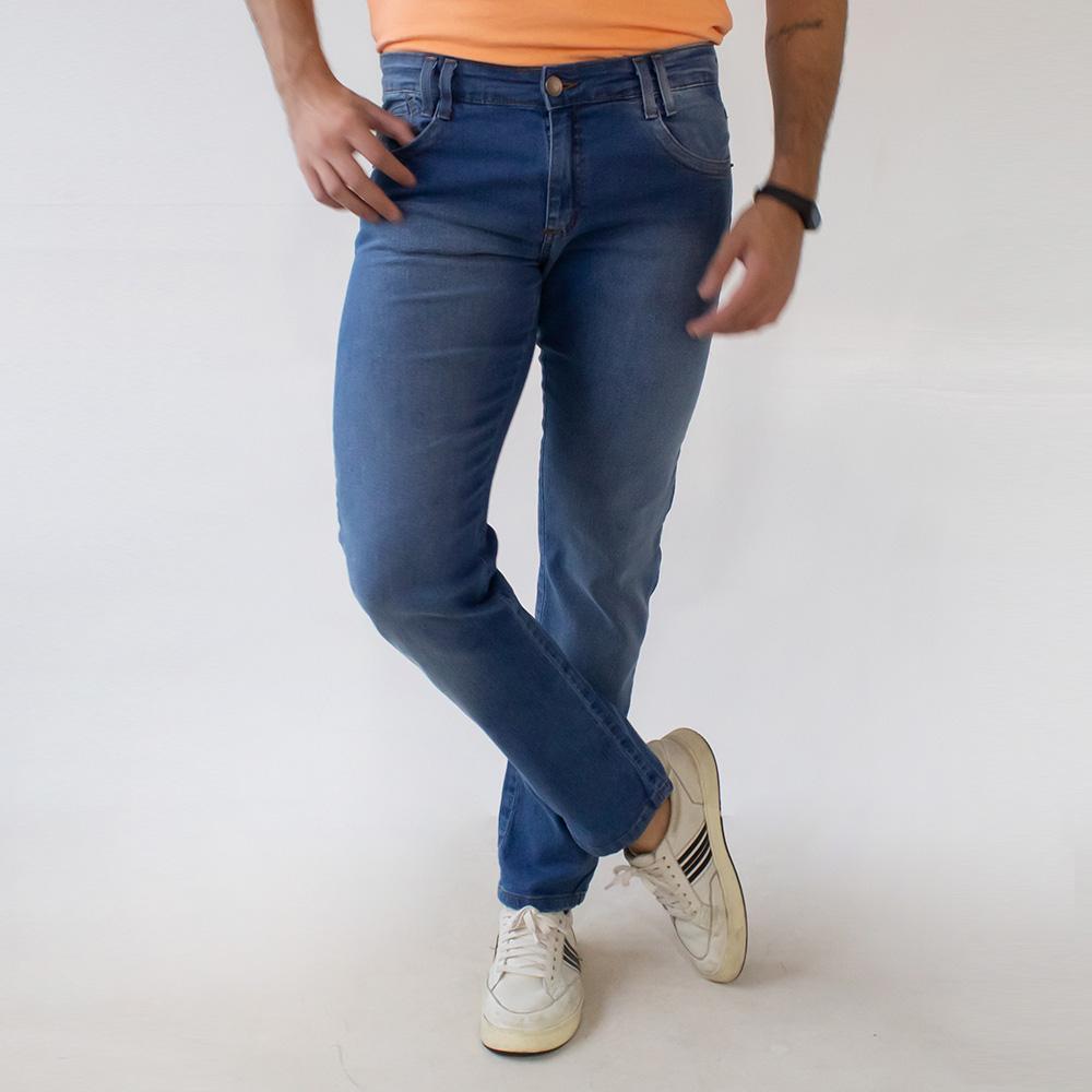 Calça Slim Jeans Masculina Elastano Anticorpus