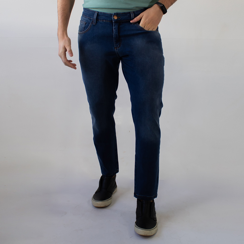 Calça Super Skinny Masculina Jeans Stone Strech Anticorpus