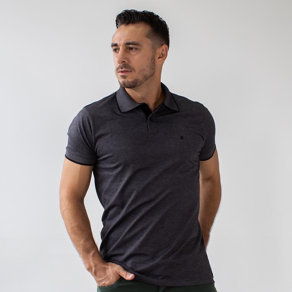 Camisa Polo Masculina Malha Várias Cores Anticorpus