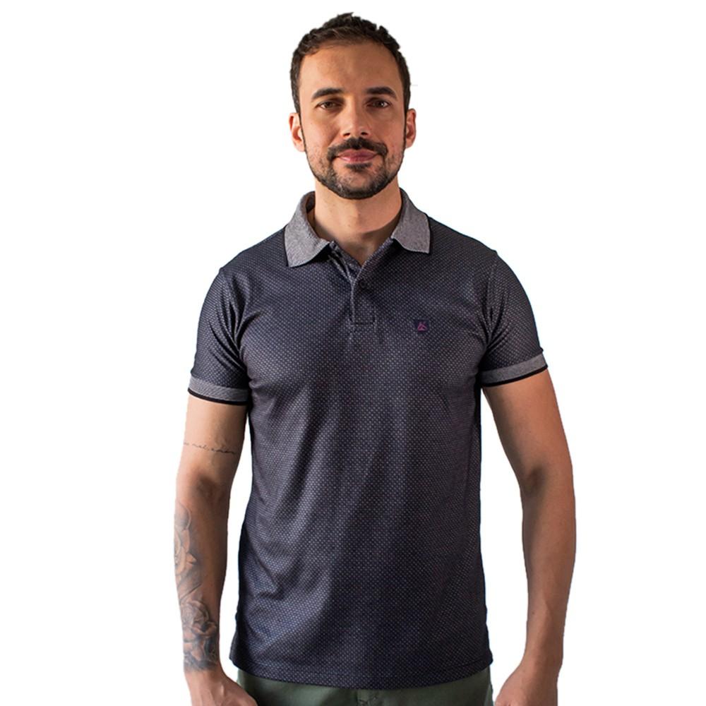 Camisa Polo Masculina Tradicional Algodão Anticorpus