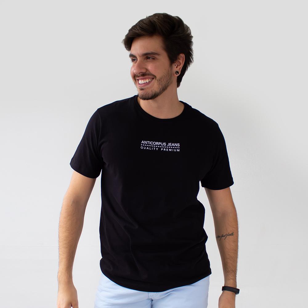 Camiseta Masculina Algodão Estampa Quality Premium Anticorpus