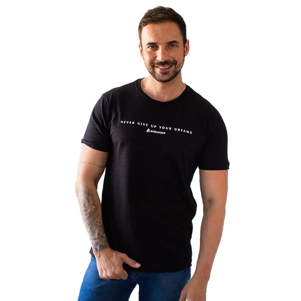 T-Shirt Masculina Flamê Dreams Várias Cores Anticorpus