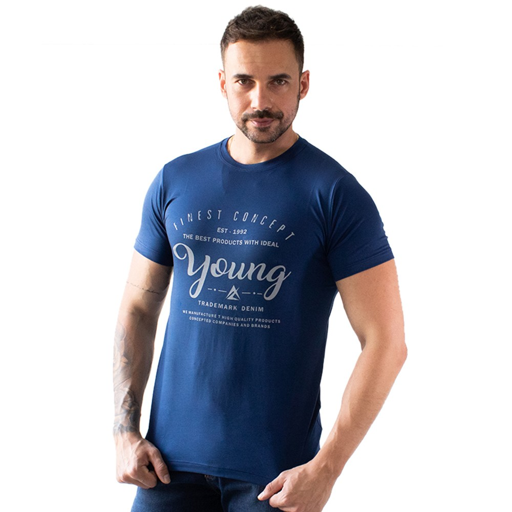 T-Shirt Masculina Viscose Young Várias Cores Anticorpus