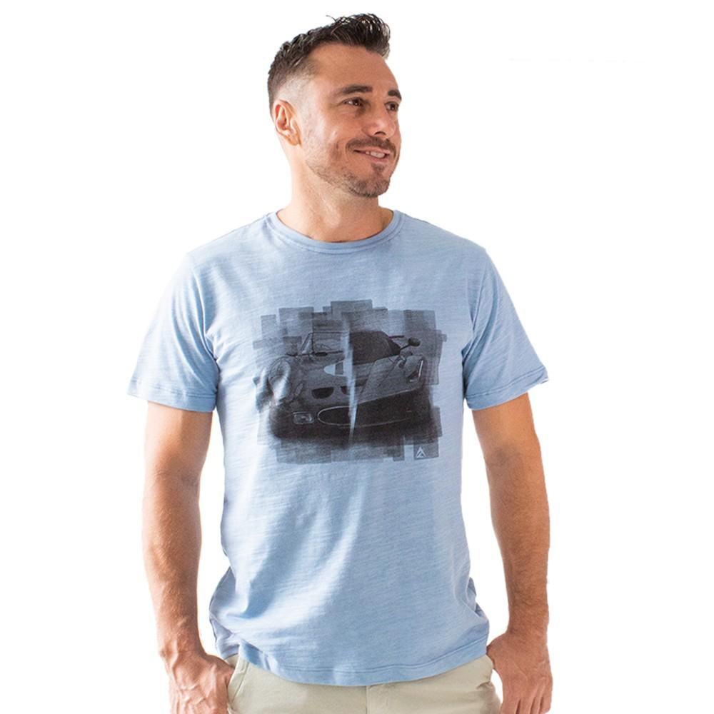 T-shirt Masculina Flamê Estampa Carros Várias Cores Anticorpus