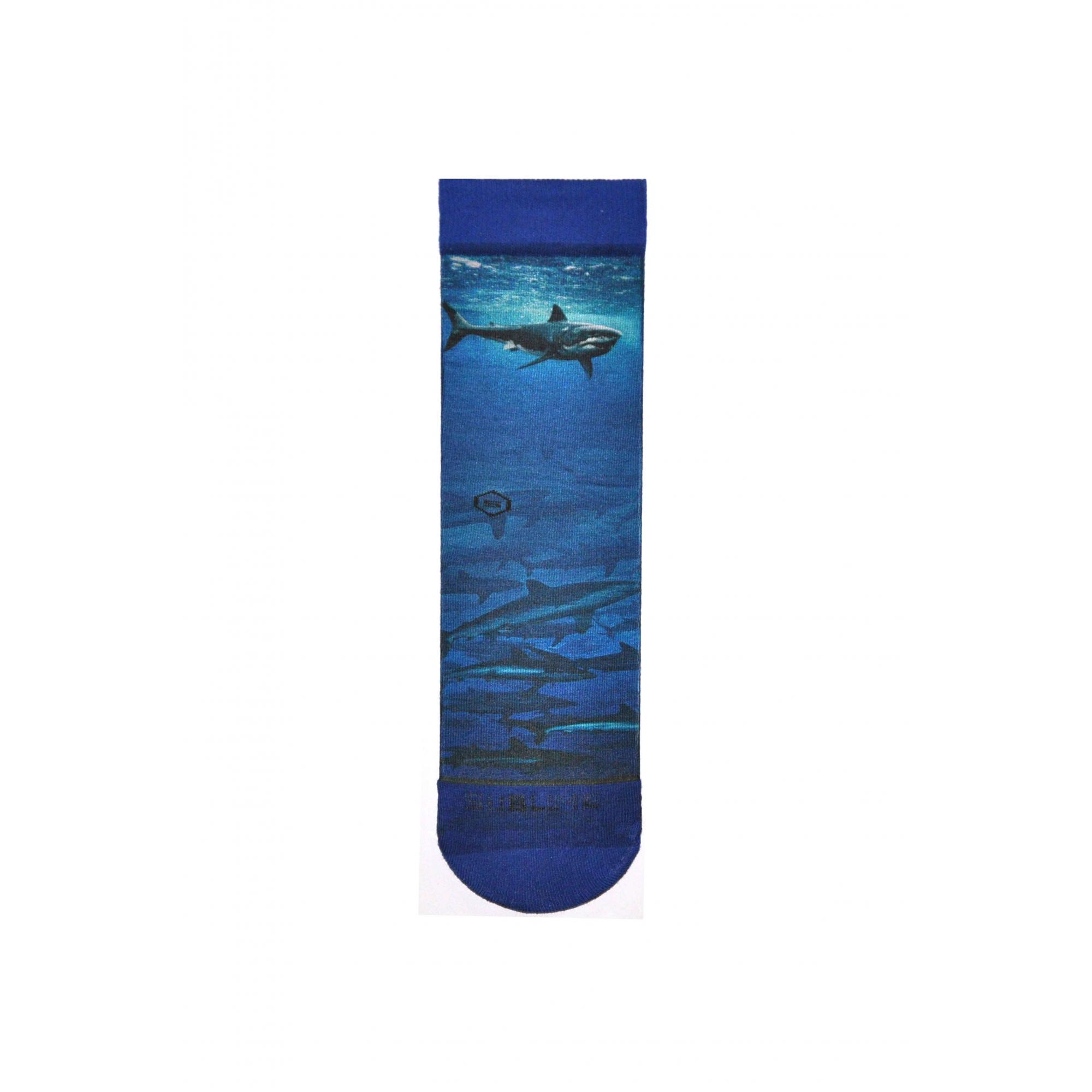 Meia Sublime Blue Shark